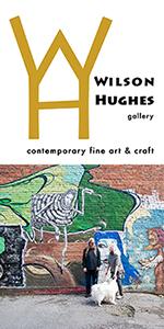 Wilson Hughes gallery - contemporary fine art & craft  / 117 Campbell Avenue SW  / Roanoke VA  /  540.529.8455
